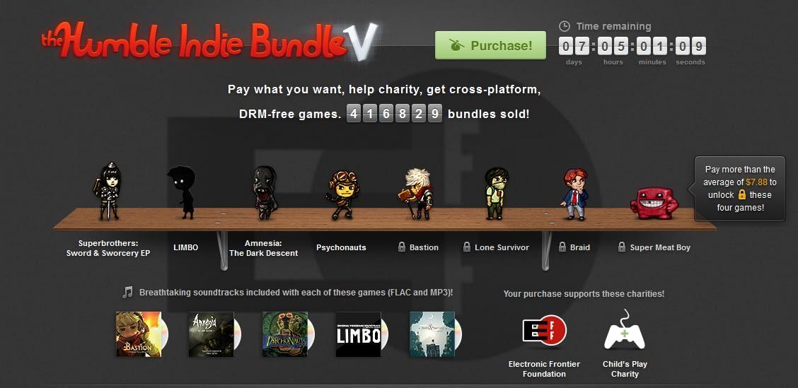 The Humble Bundle V