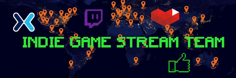 Indie GamePlay StreamTeam