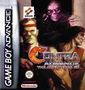 Contra Advance The Alien Wars EX