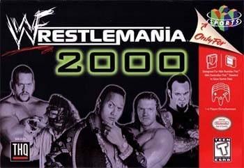 WWF Wrestle Mania 2000