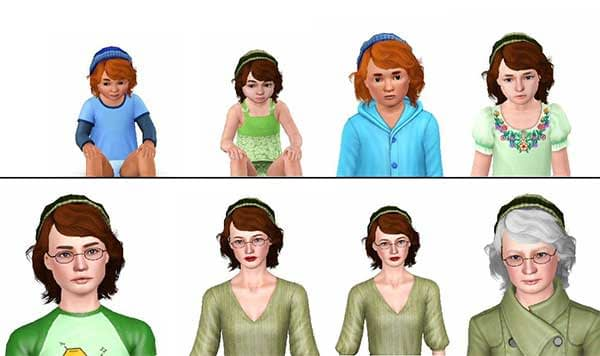 age - sims 4 mods