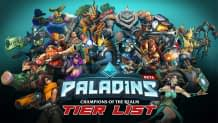 Paladins Tier List Ranked From Best to Worst as of 2019